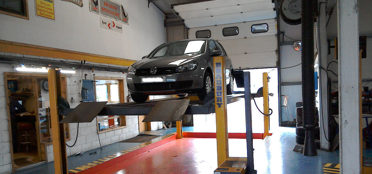 MOT Test Garage at JRJ Shetland Ltd. Lerwick